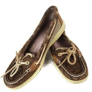 Sperry Top Sider Womens Size 6 Nautical Boat Shoes